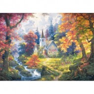 Puzzle  Cobble-Hill-70054 Jack Pine - Chapel of Hope
