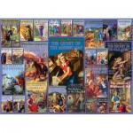 Puzzle  Cobble-Hill-80051 Vintage Nancy Drew
