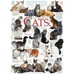 Puzzle  Cobble-Hill-80095 Cat Quotes