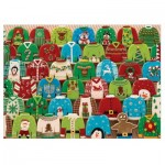 Puzzle  Cobble-Hill-80143 Ugly Xmas Sweaters