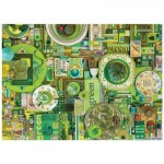 Puzzle  Cobble-Hill-80149 Green