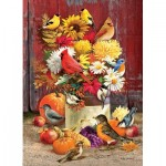 Puzzle  Cobble-Hill-80183 Autumn Bouquet