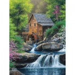 Puzzle  Cobble-Hill-88020 Pièces XXL - Spring Mill