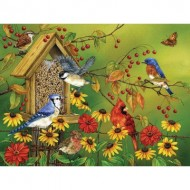 Puzzle  Cobble-Hill-88023 Pièces XXL - Fall Feast