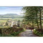 Puzzle  Jumbo-11032 Around Britain - Keith Melling : Askrigg, Wensleydale