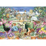 Puzzle  Jumbo-11130 Claire Comerford - Winter Garden