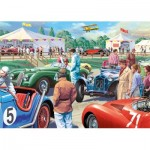 Puzzle  Jumbo-11164 Pièces XXL - Legends of The Track
