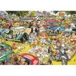 Puzzle  Jumbo-11199 Graham Thompson - Picnic in the Park