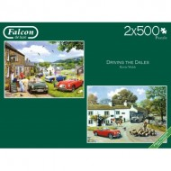 Jumbo-11215 2 Puzzles - Driving in the Dales