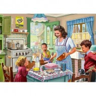 Puzzle  Jumbo-11245 Kitchen from 1940's