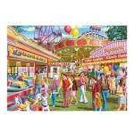 Puzzle  Jumbo-11251 Pièces XXL - Fun at the Fair