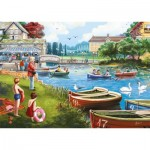 Puzzle  Jumbo-11252 The Boating Lake
