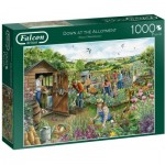 Puzzle  Jumbo-11265 Down at The Allotment
