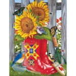 Puzzle  Sunsout-12574 Pièces XXL - Summer Galoshes