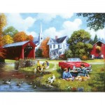 Puzzle  Sunsout-13690 Pièces XXL - Lazy Days
