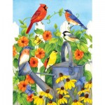 Puzzle  Sunsout-16005 Pièces XXL - Picket Fence Perchers