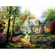 Puzzle  Sunsout-19206 Pièces XXL - Nicky Boehme - A Country Gem