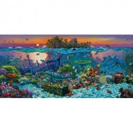 Puzzle  Sunsout-20121 Wil Cormier - Coral Reef Island