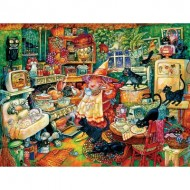 Puzzle  Sunsout-21876 Pièces XXL - Witchin' Kitchen