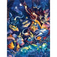 Puzzle  Sunsout-21889 Pièces XXL - Three Witches