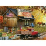 Puzzle  Sunsout-28624 Pièces XXL - Seed and Feed General Store