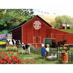 Puzzle  Sunsout-28648 Pièces XXL - Country Serenity