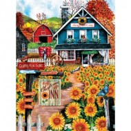 Puzzle  Sunsout-28715 Pièces XXL - Welcome to the Sunflower Inn