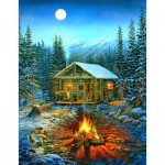 Puzzle  Sunsout-29032 Pièces XXL - Sam Timm - A Cozy Holiday