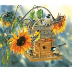 Puzzle  Sunsout-30611 Janene Grende - Birds at Bear Valley