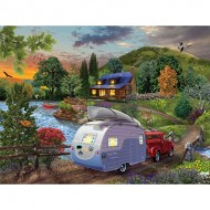 Puzzle  Sunsout-31430 Pièces XXL - Campers Coming Home
