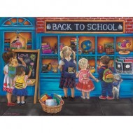 Puzzle  Sunsout-35863 Tricia Reilly-Matthews - School Time