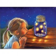 Puzzle  Sunsout-35887 Pièces XXL - Magical Fireflies