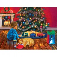 Puzzle  Sunsout-35897 Tricia Reilly-Matthews - Under the Tree