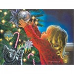 Puzzle  Sunsout-35904 Pièces XXL - Santa's Midnight Helper