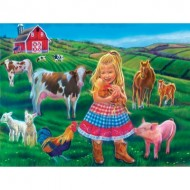 Puzzle  Sunsout-35961 Pièces XXL - Tricia Reilly-Matthews - Fun on the Farm