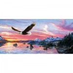 Puzzle  Sunsout-36512 Jeff Tift - Silent Wings of Freedom