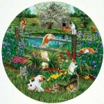 Puzzle  Sunsout-45876 Pièces XXL - Cats at Play