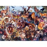 Puzzle  Sunsout-50078 Pièces XXL - Animal Fantasia