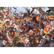 Puzzle  Sunsout-50089 Payne Hart - Animal Fantasia