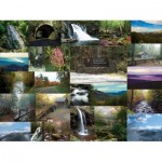 Puzzle  Sunsout-56380 John W. Mayes - The Great Smoky Mountains