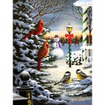 Puzzle  Sunsout-60382 Mark Kness - Holiday Friends