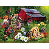 Puzzle  Sunsout-60410 Eileen Herb-Witte - Sweet Country
