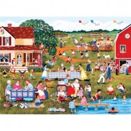 Puzzle  Sunsout-61350 Sheila Lee - Annual Family Reunion