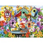 Puzzle  Sunsout-62998 Nancy Wernerbach - Garden Neighbors