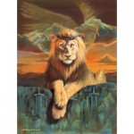Puzzle  Sunsout-66048 William Hallmark - Lion of Judah