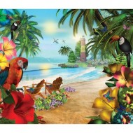 Puzzle  Sunsout-66560 Caplyn Dor - Island of Palms