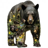 Puzzle  Sunsout-96033 Pièces XXL - Greg Giordano - Forest Bear