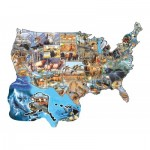 Puzzle  Sunsout-96041 Cynthie Fisher - Wild America