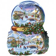 Puzzle  Sunsout-97152 Steve Crisp - Winter Village