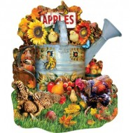 Puzzle  Sunsout-97168 Lori Schory - Fall Watering Can